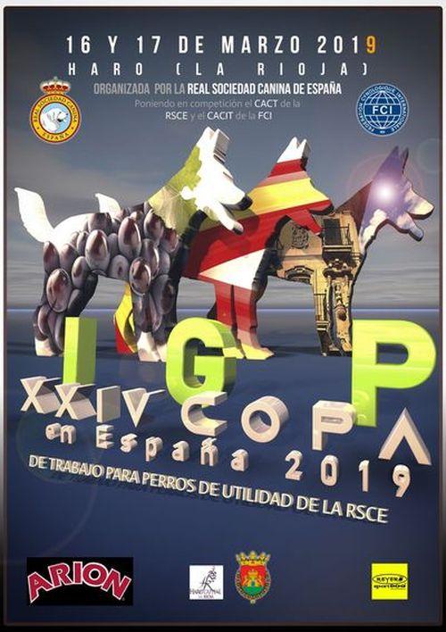XXIV Copa de España de trabajo para perros de utilidad