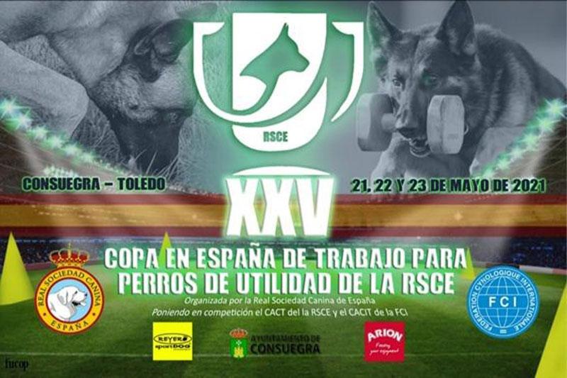 Copa de España para perros de Trabajo y Utilidad
